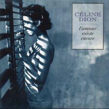 ★☆★ CD SINGLE Céline DION L'amour existe encore 2-track CARD SLEEVE + RARE G/EX