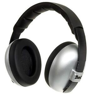 Baby Banz mini Earmuffs Hearing Protection 0-2 Silver