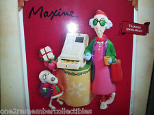 Hallmark Keepsake 2004 Maxine'S Crabby Mall-Idays Talking Christmas Ornament New