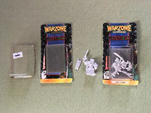 OOP Brotherhood Sacred Sgt & Yojimbo Warzone Miniatures Target War Games 1995