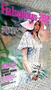 FABULOUS 208 MAGAZINE: 8TH MAY 1971 STEVE STILLS/DEEP PURPLE/BARRY EVANS/FLORIAN