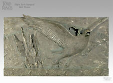 LOTR~FLIGHT FROM ISENGARD~FAUX BRONZE~WALL PLAQUE~LE 1000~SIDESHOW / WETA~MIB