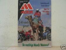 MO8901-Münch Mammut,MUNCH HISTORIE,PARIS-DAKAR,LEVIOR,R80GS,HONDA NX650,KAWA KLR