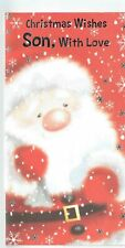 Son Christmas Card 'Christmas Wishes Son With Love'