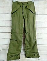Vintage 1971 Hot Weather Flyers Trousers Size XS Helicopter Pilot Vietnam Era OD