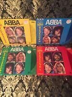 ABBA , kompl. Discomate Set 4 Lp's, ungespielt mit Banderolen,selten rare