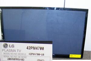 "LG 42PM4700 42"" HDTV 1080P Plasma TV Screen with Frame"
