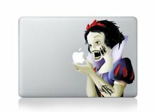 "MacBook 13"" Angry Zombie Snow White Apple decal sticker pre-2016 MB Pro/Air only"