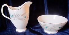 Royal Albert Harvest Song Bone China Creamer & Open Sugar Bowl - England