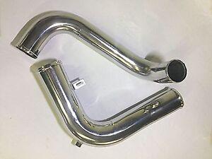 Peterbilt Upper & Lower Coolant Tubes Stainless Steel (OEM# 07-06508 & 07-06462)