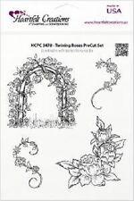 Sentiti creazioni PRECUT TIMBRI TWININGS ROSE hcpc 3478 Garden Romance