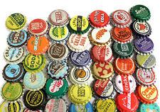 50 Vintage Random Bottle Caps Collectible Craft Jewelry Coke Soda Bottlecaps