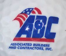 (1) ASSOCIATED BUILDERS ABC CO    LOGO GOLF BALL