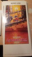 An American tail Movie Premiere Ticket Stub Steven Spielberg