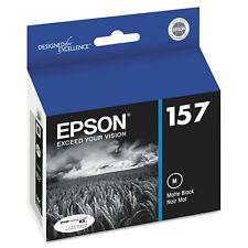 Epson 157 (T157820) Matte Black Stylus Photo R3000 Printer Ink Cartridge New