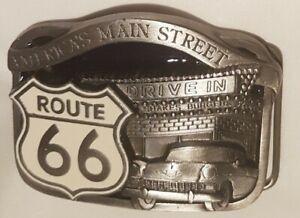Vintage Buckle Gürtelschliesse/ Route 66 limited Edition / Buckles of America