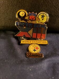 NFL Super Bowl XIII Pittsburgh Steelers Championship Pin (New/Unused)