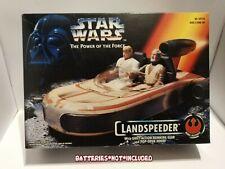 Star Wars Landspeeder Power Of The Force Kenner 1995 Vehicle New Sealed