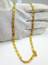 INDIAN HANDMADE 22 CARAT YELLOW GOLD NAWABI CHAIN LINKED CHAIN MOTHER'S DAY