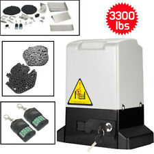 3300 lbs Automatic Sliding Gate Opener Motor Auto-Close Security System Kit BT