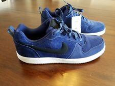Nike Court Borough Low Recreation Basketball Shoes Blue 844881-400 Size 10.5 New