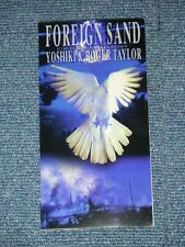 """YOSHIKI & ROGER TAYLOR of QUEEN Japan 1994 NM Tall 3"""" CD Single FOREIGN SAND"""