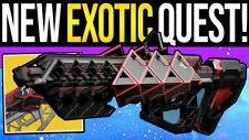 Destiny 2 Outbreak Perfected / Prime Exotic Pulse QUEST Recovery PC PS4 & XBOX