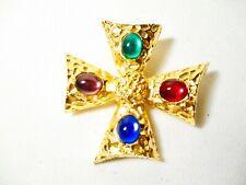 St. John Maltese Brooch Pin