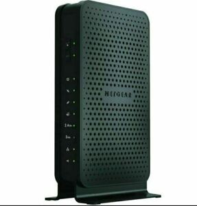 NEW NETGEAR N600 2-Port Dual Band Gigabit WiFi N Modem Router Model C3700-100NAS