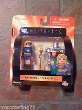 DC Minimates STAR GIRL & S.T.R.I.P.E. Series 6 JSA JLA Marvel Justice League
