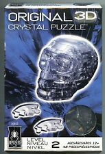 Bepuzzled BLACK CRYSTAL SKULL 3D Crystal Jigsaw Puzzle 48 Pc