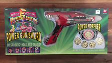 1993 Mighty Morphin Power Rangers Power Gun Sword Power Morpher Bandai SEALED