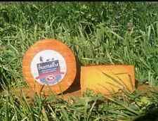 Queso Naranja de Cabra y Oveja al Pimentón - Producción Artesana - Pieza 1 Kg
