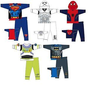 Kids Marvel DC Batman Hulk Spiderman Thor Captain America Iron Man Pyjama Sets