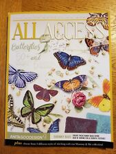 Anita Goodesign Embroidery Machine Embroidery -  All Access April 2018 + Book