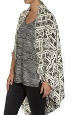 Stunning Ladies Loose Fitting Cocoon Kimono Fits Sizes 14-16-18 (FREE POST)
