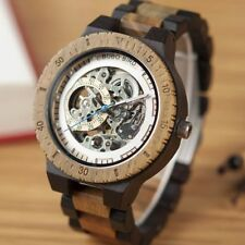WOODEN WATCH MECHANICAL BOBO BIRD BAMBOO OFFICIAL DESIGNER QUARTZ LUXURY RELOGIO