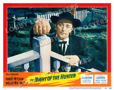 The Night Of The Hunter Lobby Scene Card 3 Poster 1955 Robert Mitchum Film Noir