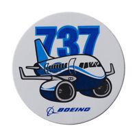 Boeing 737 Pudgy Sticker neu / orig. Boeing