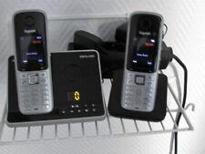 Gigaset SX810A ISDN Tel.-Anlage (mit Anrufbeantworter), Basis+Nebenstelle