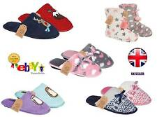 * High Quality Ladies Womens Comfort Fur Soft Mule Slip On Slippers Shoes UK 3-8