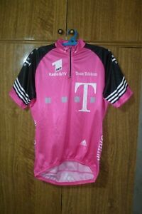 Adidas Cycling Shirt Vintage Jersey 2001 Italy Pink Men Size L /7 42/44 Large