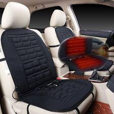 2Pcs Car Auto Front Seat Hot Heated Pad Cushion Warmer Protectors Cover Black UK