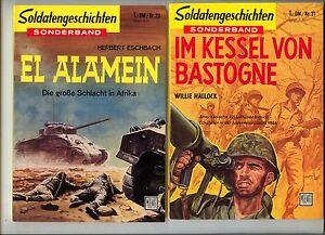 Soldatengeschichten Sonderband ab 1958 Nummer 1-40 (Nr. 21 fehlt) Zustand (0-1)