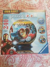 240 PC. RAVENSBURGER (3D IRON MAN 2 - PUZZLEBALL - PUZZLE BALL) PUZZLE - NEW