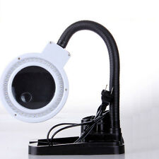 Magnifying Desk Lamp With 5X & 10X Magnifier With 40 LED Light 110V Power