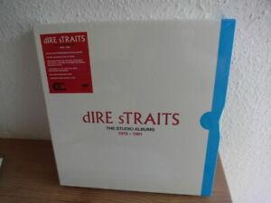 Factory Sealed DIRE STRAITS THE STUDIO ALBUMS / 1978 -1991/ Lp Box Mint