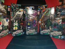 Transformers War Cybertron WFC Earthrise Micromaster Lot of 5!! 10 figures Total
