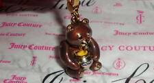 New Juicy Couture Honey Bear Charm For Bracelet Necklace Keychain