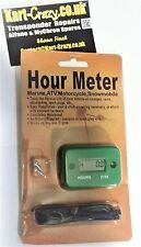 Kart Engine Hour Timer Meter - Green